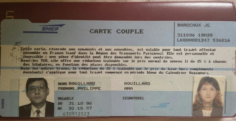 carte couple